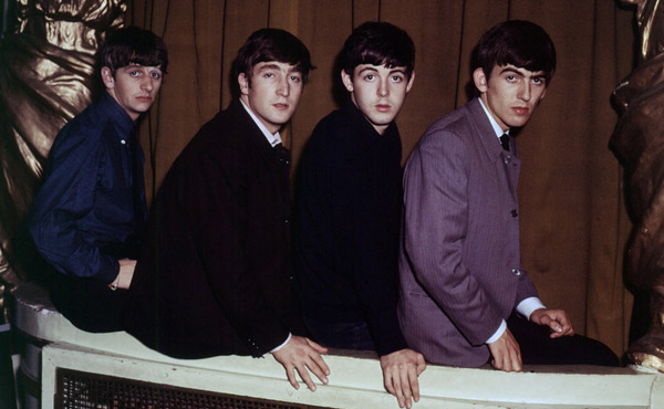 The Beatles back in their youth