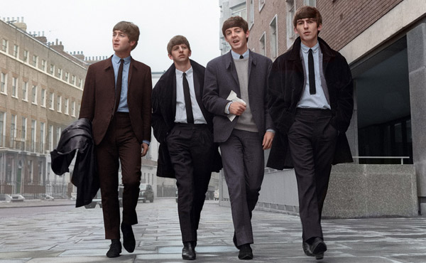 The Beatles colour photo