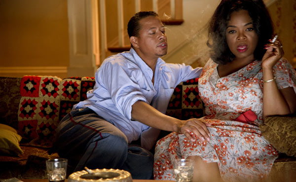 Terrence Howard and Oprah Winfrey in The Butler