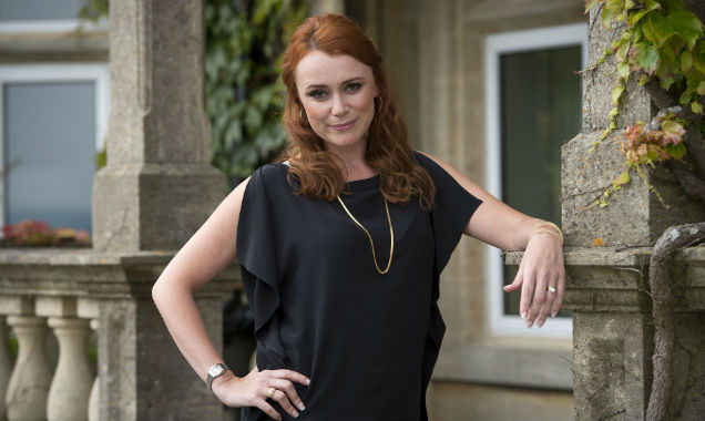 Keeley Hawes as Samantha Mollison in 'The Casual Vacancy'