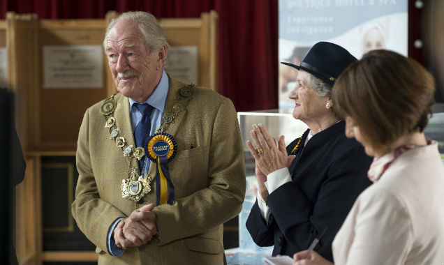 Michael Gambon as Howard Mollison in 'The Casual Vacancy'