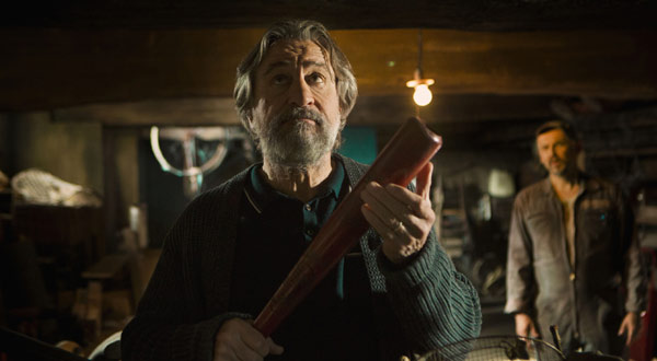 Robert De Niro in trouble with the mob in 'The Family'
