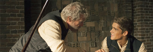 The Giver starring Jeff Bridges & Brenton Thwaites