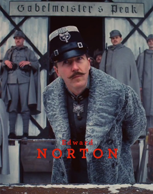 Ed Norton The Grand Budapest Hotel