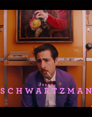 Jason Schwartzman in The Grand Budapest Hotel