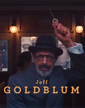 Jeff Goldblum in The Grand Budapest Hotel