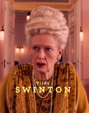 The Grand Budapest Hotel Tilda Swinton