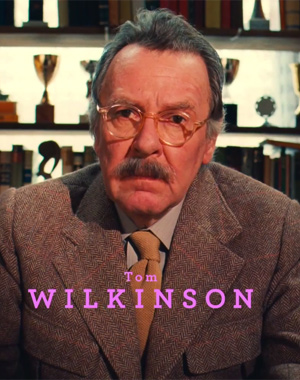 Tom Wilkinson appearing in The Grand Budapest Hotel