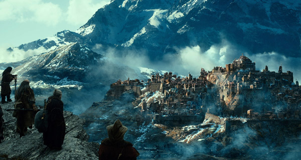 A scene from New Line Cinema's and MGM's fantasy adventure The Hobbit: The Desolation Of Smaug