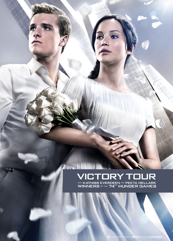 The Victory Tour Poster from The Hunger Games: Catching Fire