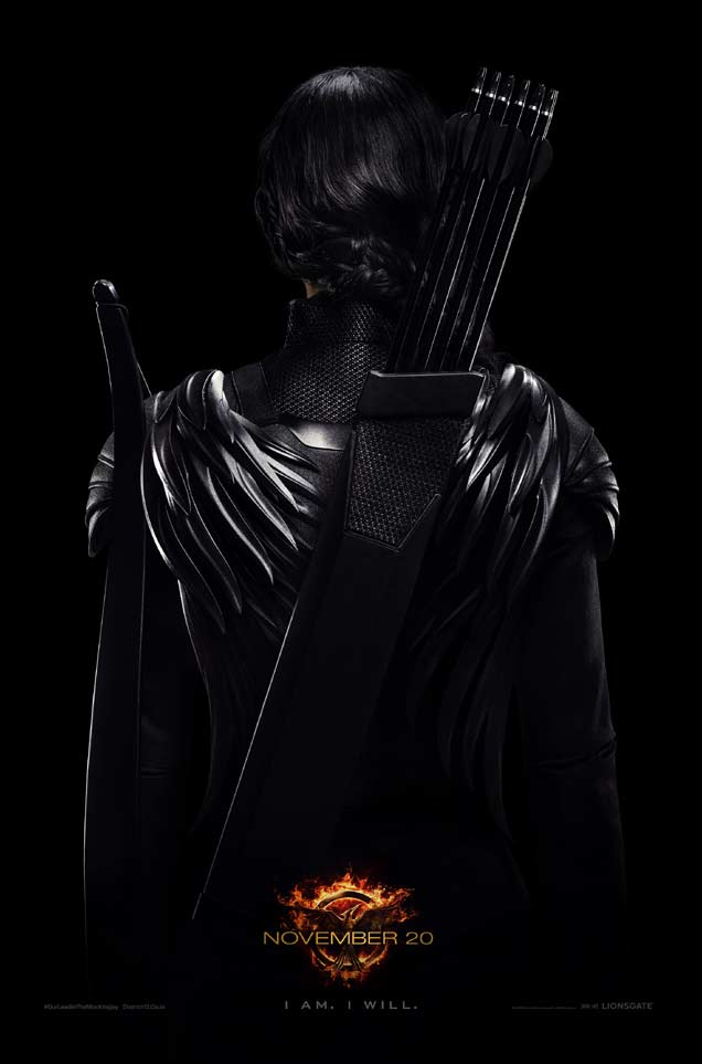 Mockingjay poster Jennifer Lawrence