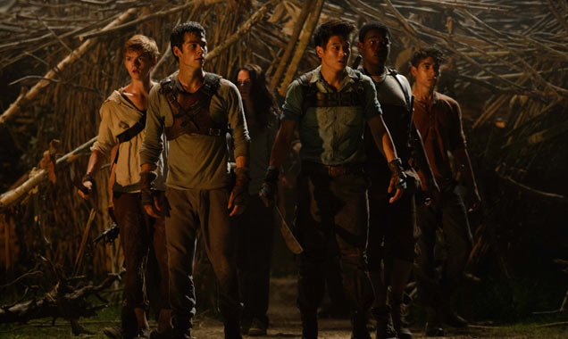 The cast of Maze Runner