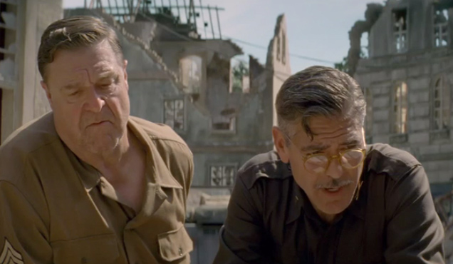 George Clooney John Goodman The Monuments Men