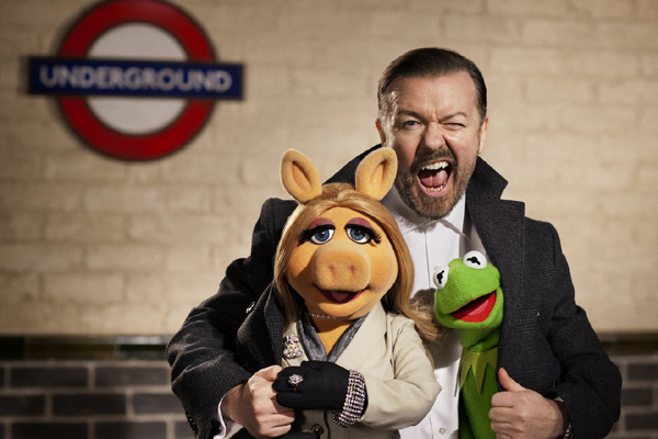 The Muppets & Ricky Gervais