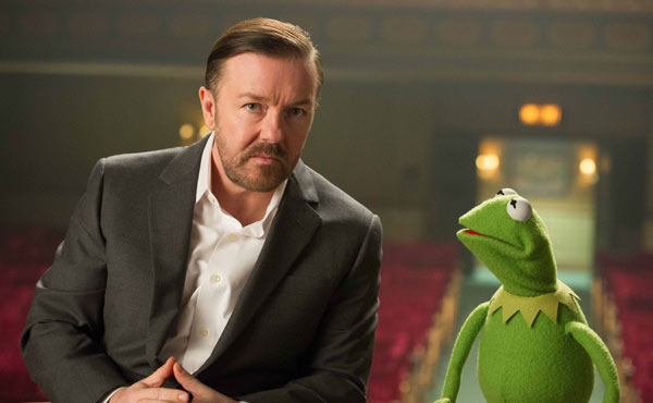 Ricky Gervais takes one of the lead roles