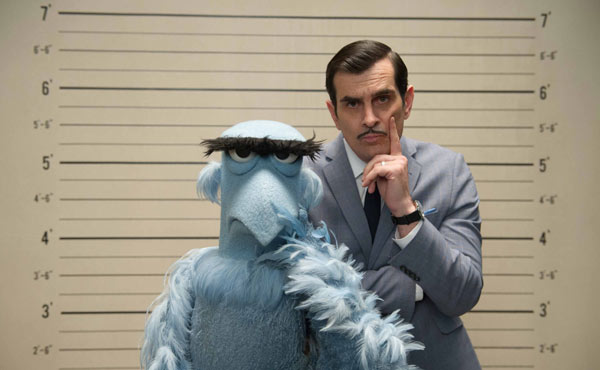 Ty Burrell is quite obviously the best choice to star in a Muppets movie!