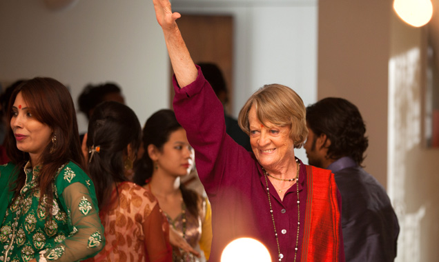 Maggie Smith Best Exotic Marigold Hotel