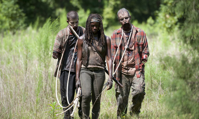 Danai Gurira, The Walking Dead Still