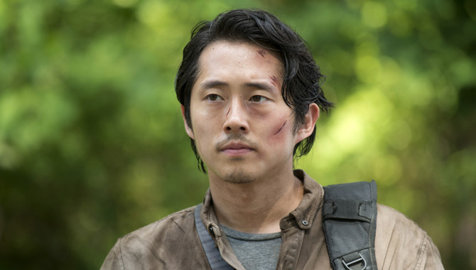 Steven Yeun in The Walking Dead