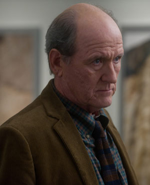 Richard Jenkins as Jed Lewis in The Company You Keep