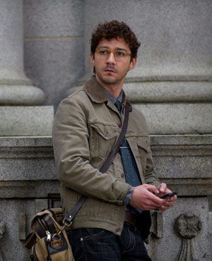 Shia LaBeuouf as Ben Shepard in The Company You Keep