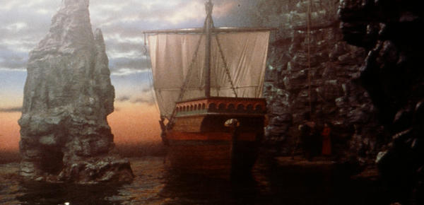 The Ship in The Princess Bride