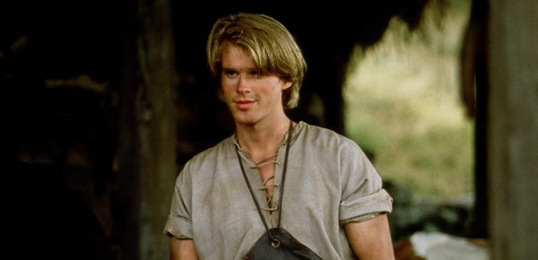 The charming and dashing Westley in The Princess Bride
