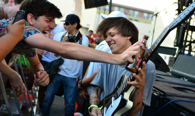 Thomas Fekete from Surfer Blood