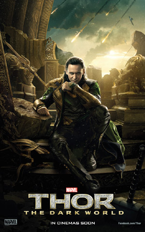 Tom Hiddleston, Thor: The Dark World Promo Image