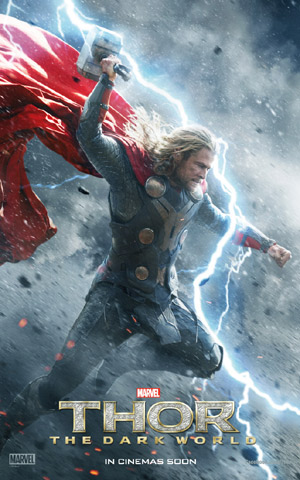 Chris Hemsworth, Thor: The Dark World Promo Poster
