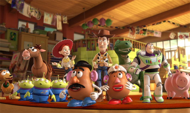 cast of toy story