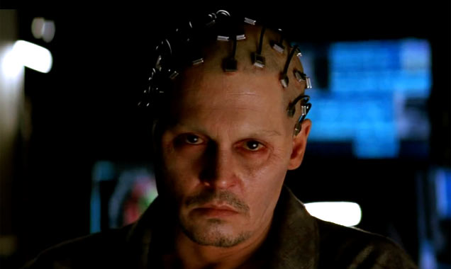 Johnny Depp, Transcendence Still