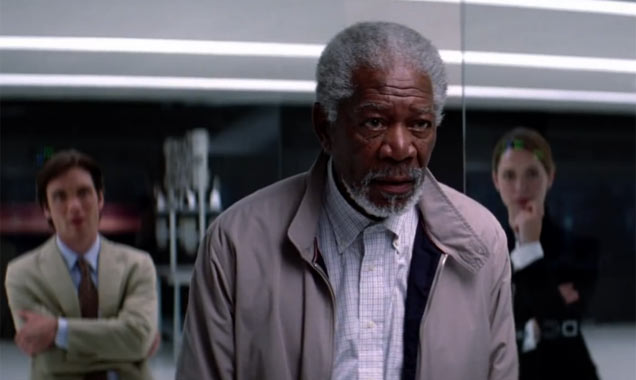 Morgan Freeman in Transcendence