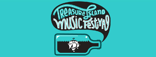 Treasure Island Music Festival 2013 Logo