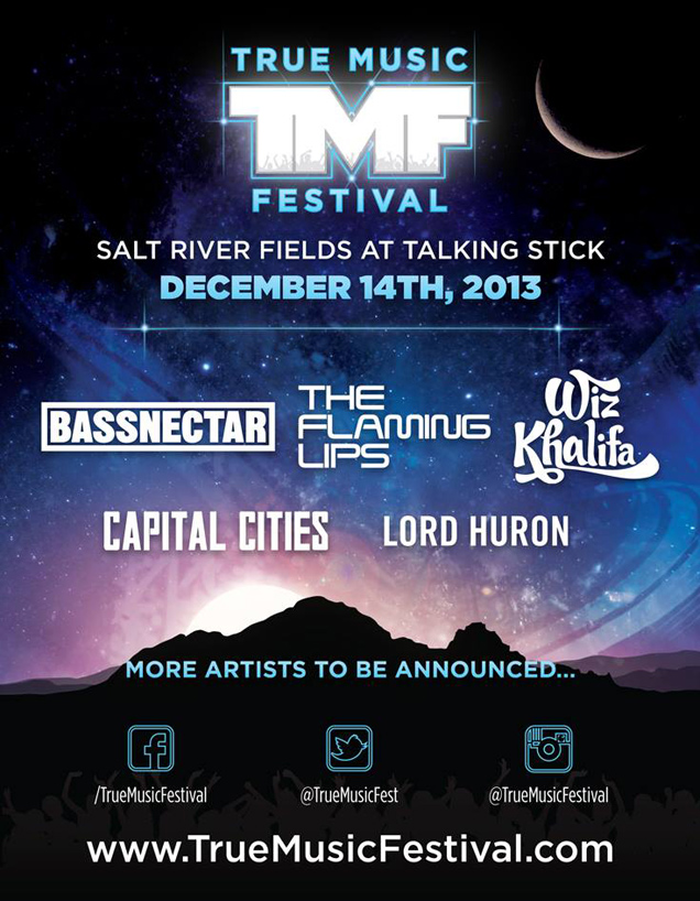 True Music Festival 2013 First Poster
