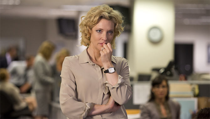 Cate Blanchett stars as the award-winning journalist Mary Mapes