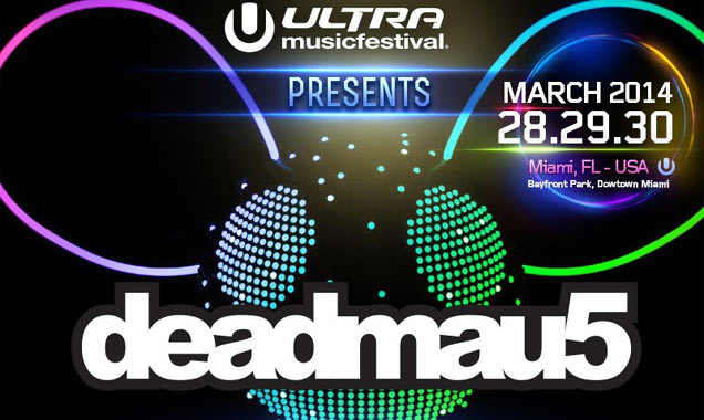 Ultra Music Festival 2014 presents deadmau5 poster