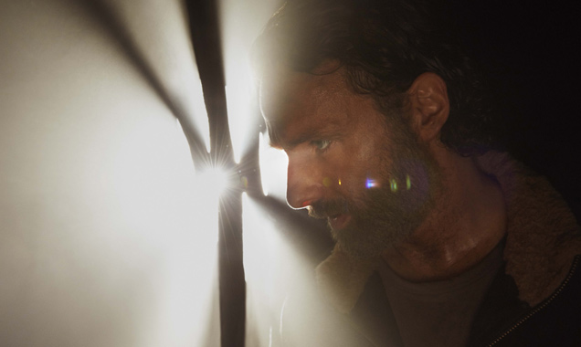 Andrew Lincoln in 'The Walking Dead' season 5