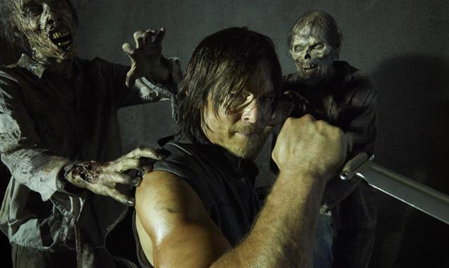 Norman Reedus in 'The Walking Dead' season 5