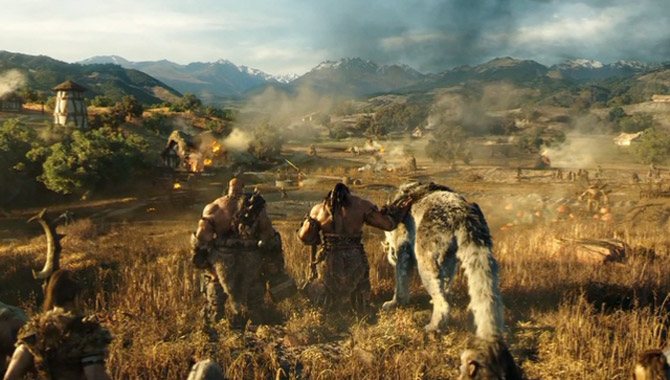 Warcraft Is Coming: A Brief Snippet Of The Humans Vs Orcs Epic Is Unveiled [Footage]