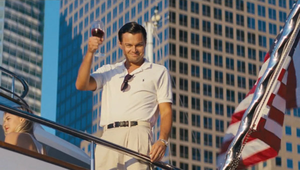 Leonardo DiCaprio, The Wolf of Wall Street Still