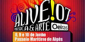 Alive!07 Festival, Maritime Stroll of Alges, Portugal