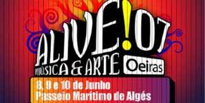 Alive!07 Festival, Maritime Stroll of Alges, Portugal