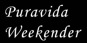 Puravida Weekender