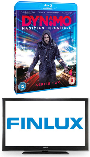 Win An Amazing Finlux HD TV With Dynamo: Magician Impossible Series 2 - Available To Own 22nd October