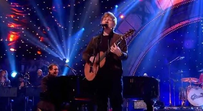 Ed Sheeran - Layla (with Jools Holland and His Rhythm and Blues Orchestra) Live Video