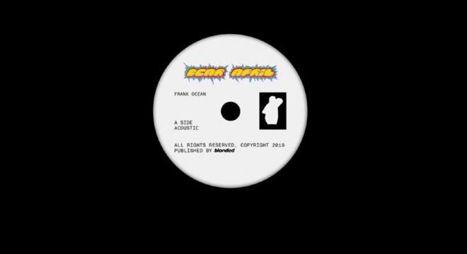 Frank Ocean - Dear April (Side A - Acoustic) Audio