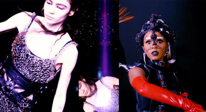 Grimes ft. Janelle Monáe - Venus Fly Video