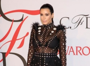 Kim K Gets Told Off By Giorgio Armani