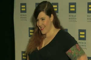 Mary Lambert At The 2015 Human Rights Campaign To Support Lgbt Equal Rights
